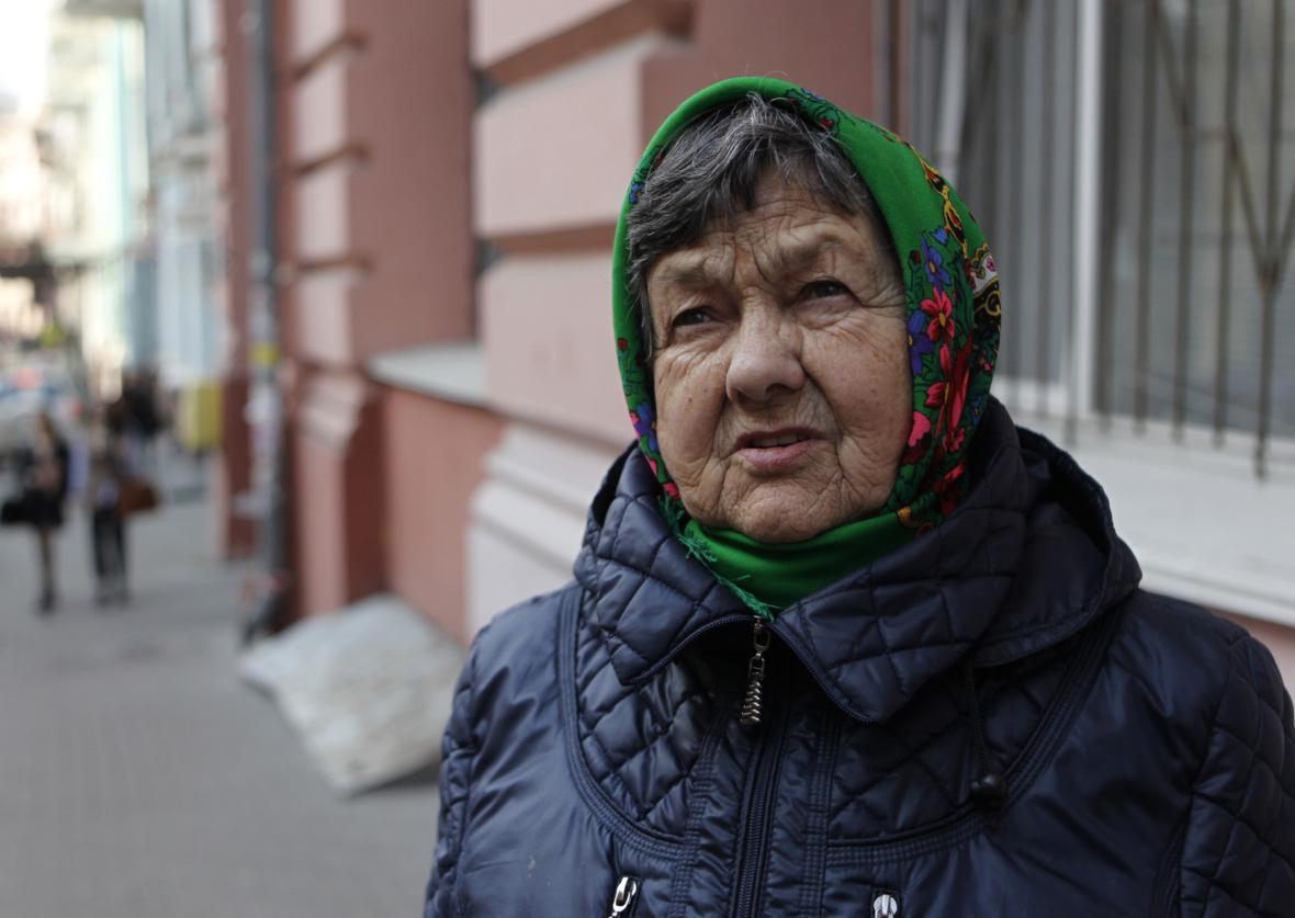 Matka odsouzené Nadi Savčenkové