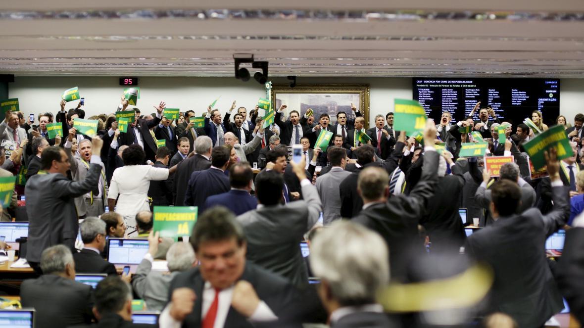 Hlasování výboru v Brazílii