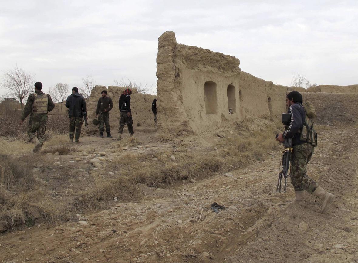 Afghánská vojska