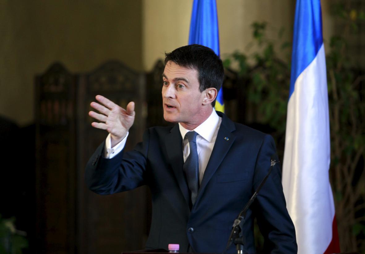 Francouzský premiér Manuel Valls