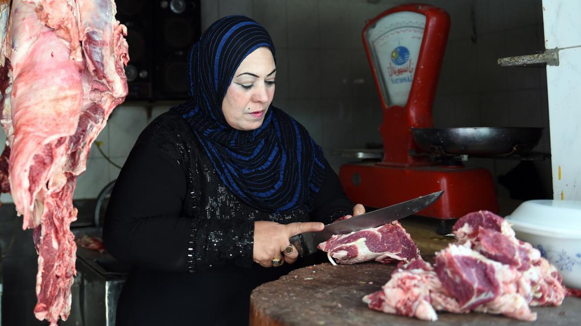 Velbloudí maso
