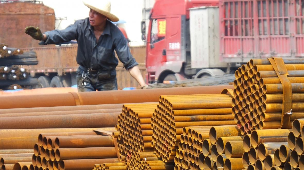 Čínská ocel