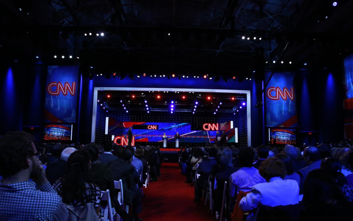 Debata demokratů na CNN