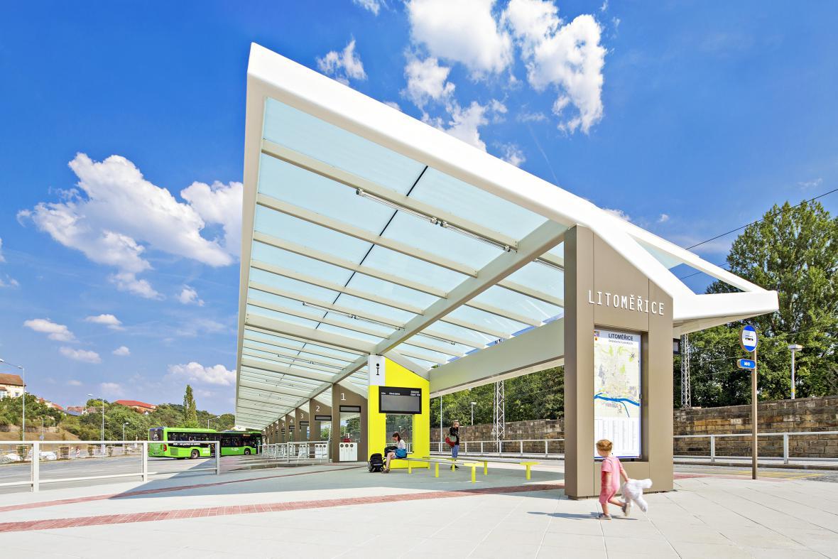 Modernizace autobusového nádraží v Litoměřicích