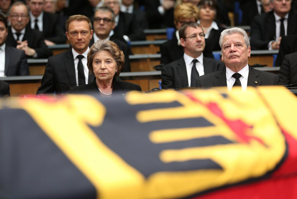 Rozloučení s Hansem-Dietrichem Genscherem