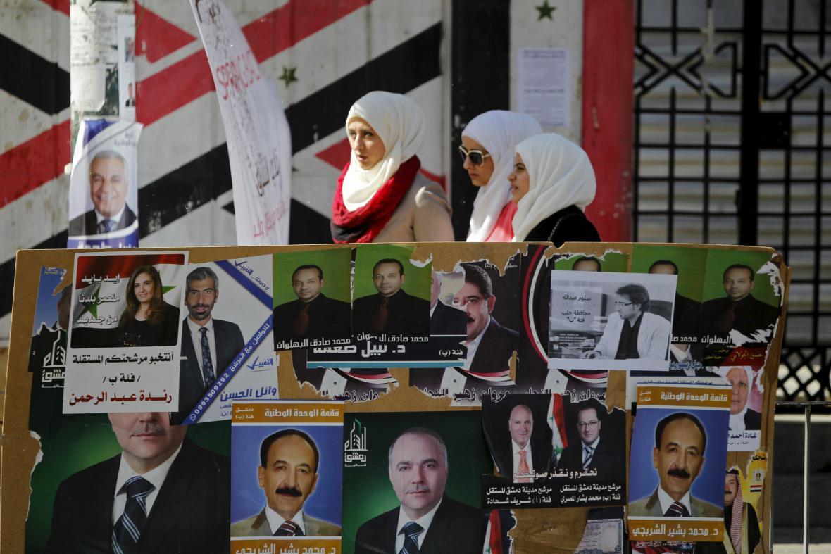 Volby v Sýrii
