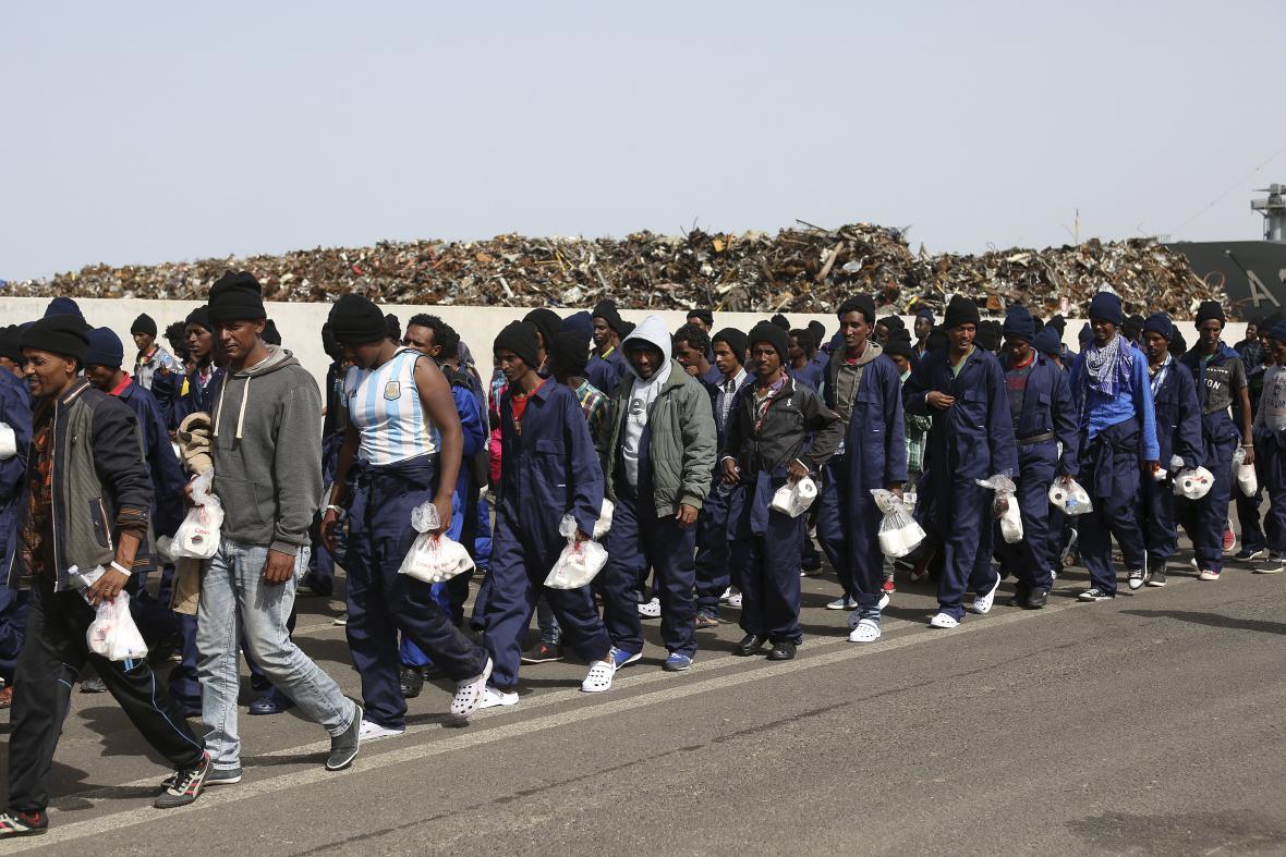 Afričtí migranti