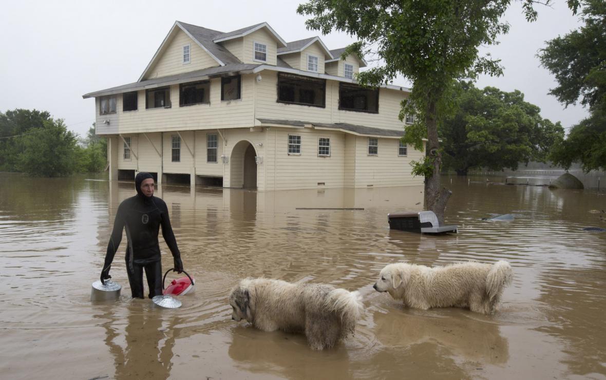 Povodně v Houstonu