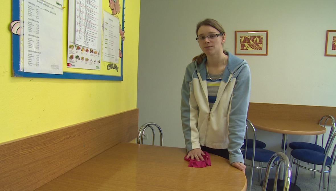 Kateřina našla v dětském domově práci