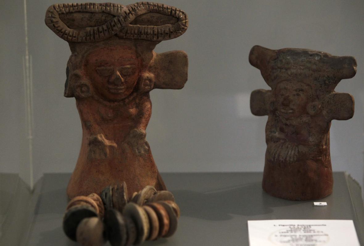 Vykopávky mayské kultury