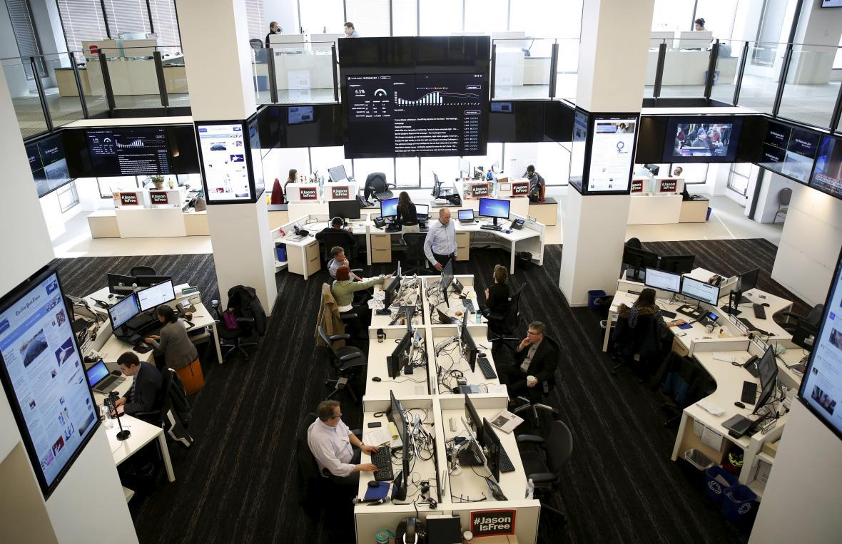 Newsroom listu Washington Post
