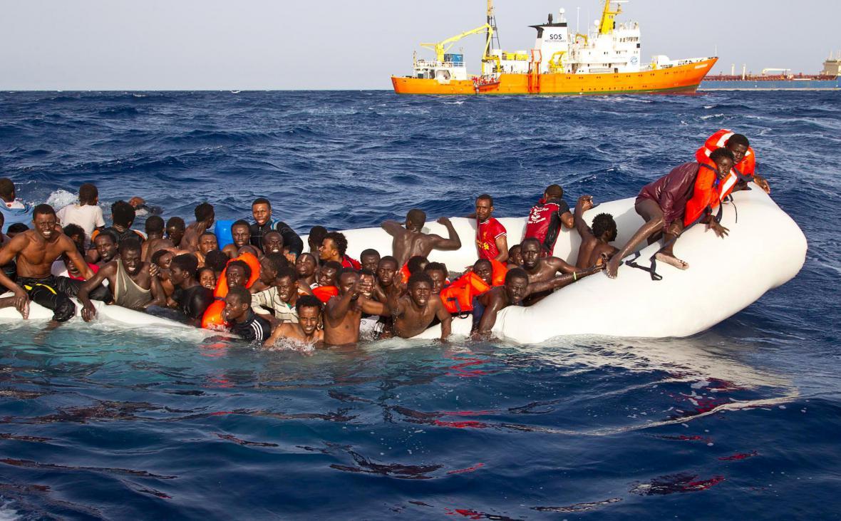 Záchranná operace ve Středomoří