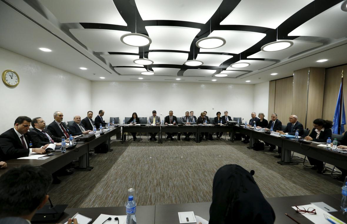 Mírová jednání v Ženevě