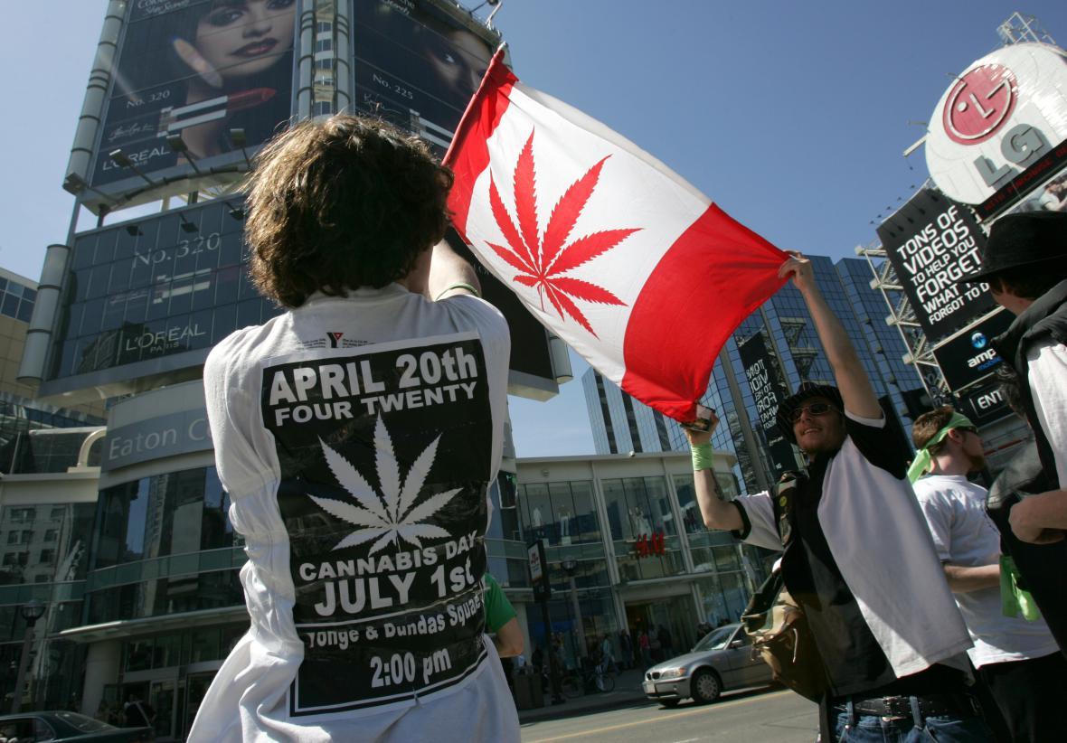 Zastánci legalizace marihuany