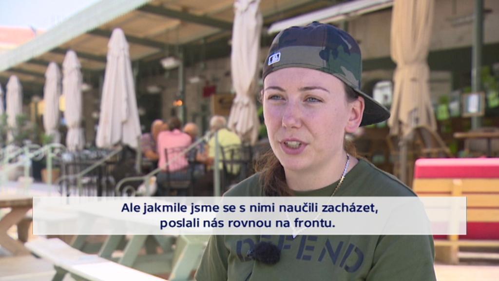 Kanadsko-izraelská dobrovolnice v Kurdistánu Gill Rosenebregová