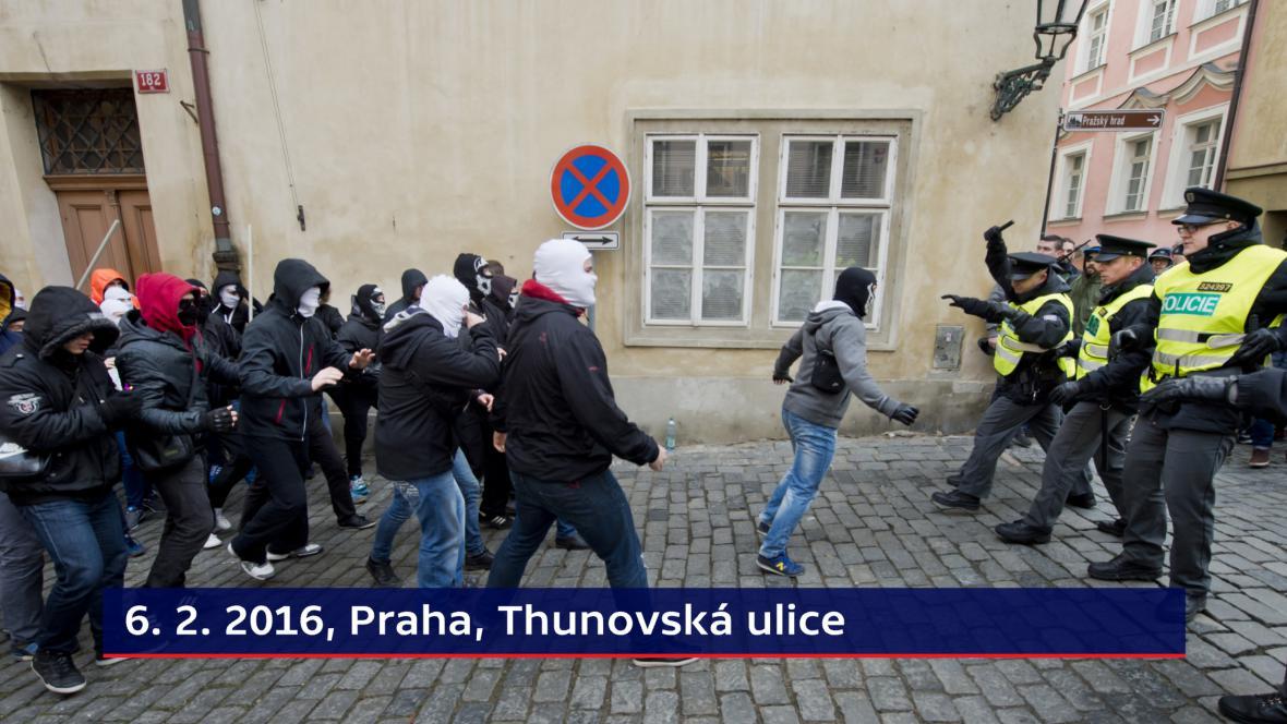 Sporné zásahy: Thunovská ulice