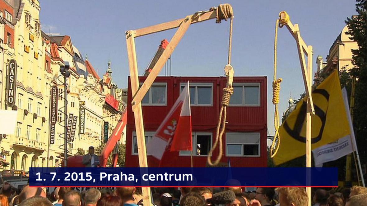 Sporné zásahy - centrum Prahy