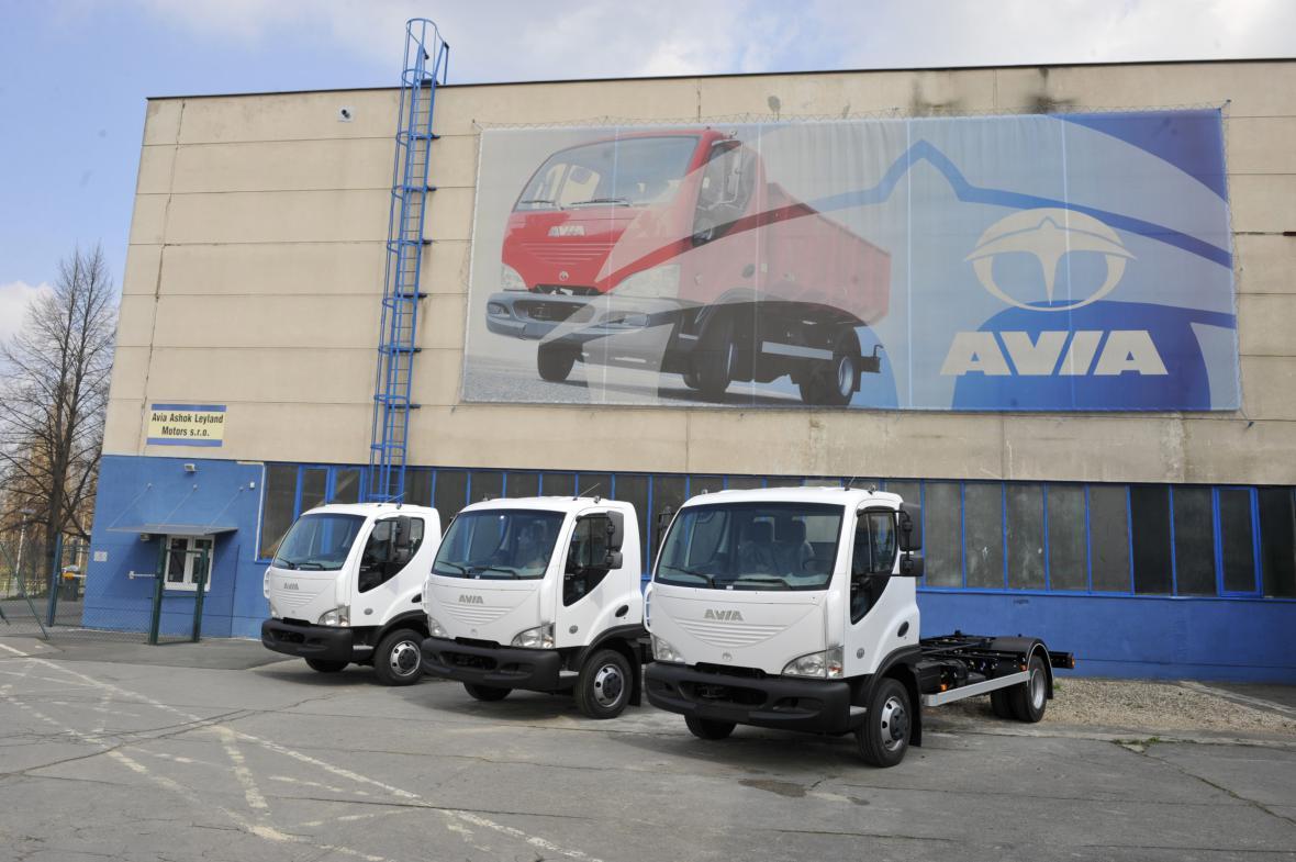 Budova automobilky Avia Ashok Leyland Motors v Praze na snímku z 5. dubna 2011