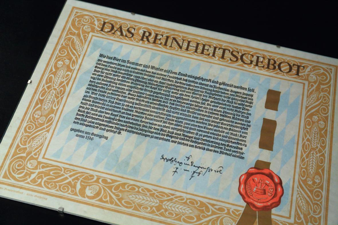 Kopie bavorské pivovářečné nory