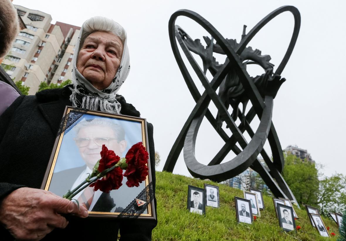 30 let od Černobylu - vzpomínková akce v Kyjevě