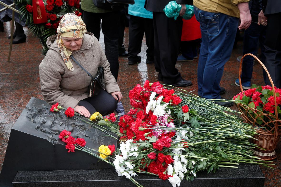 30 let od Černobylu - vzpomínková akce v Moskvě