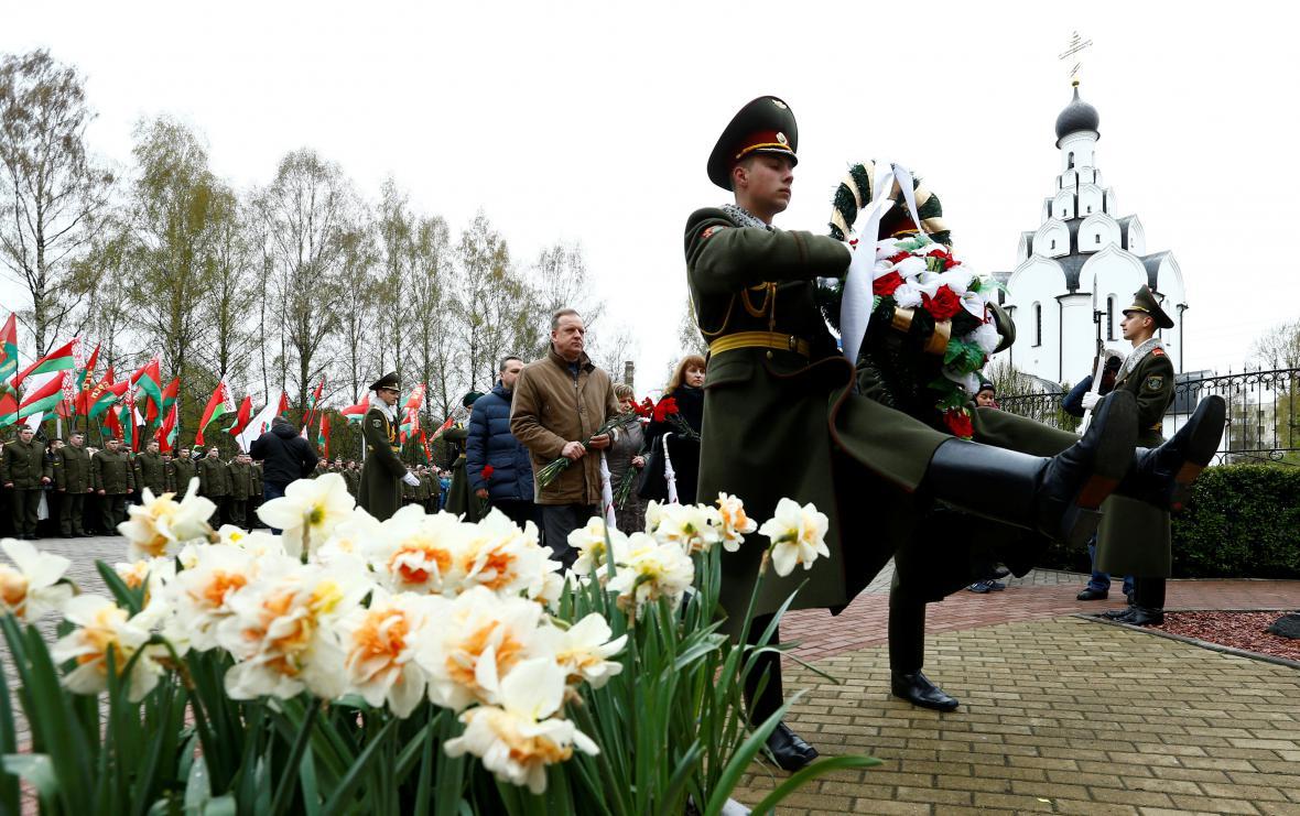 30 let od Černobylu - vzpomínková akce v Minsku