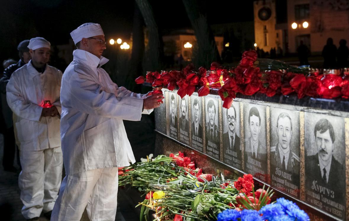 30 let od Černobylu - vzpomínková akce ve městě Slavutyč