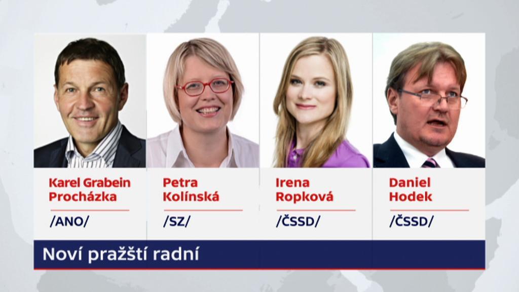 Noví pražští radní