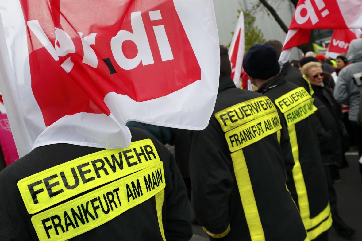 Stávka v Německu