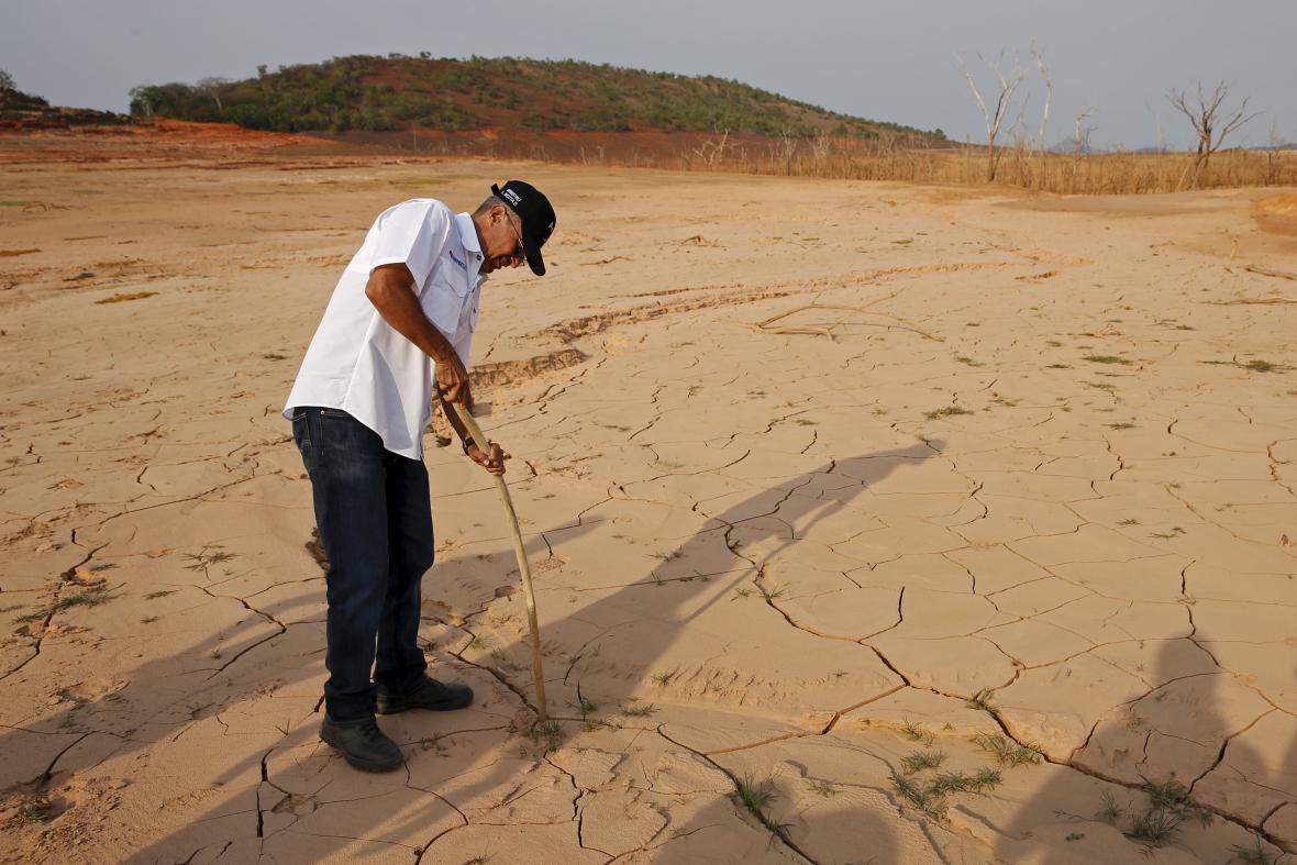 Venezuelu postihlo rekordní sucho