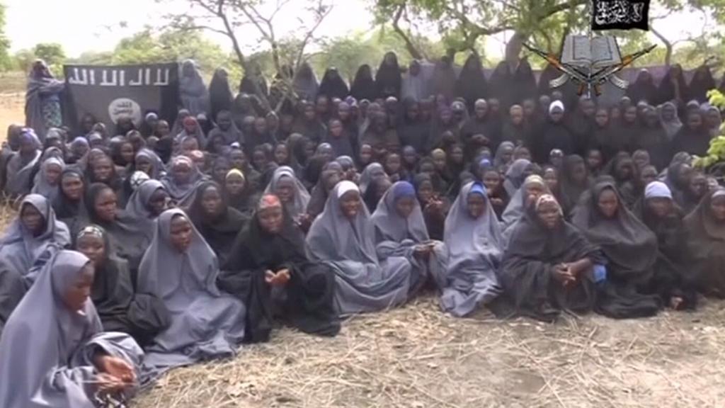 Unesené nigerijské dívky