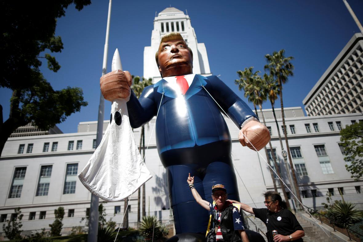 Protest proti Trumpovi v USA