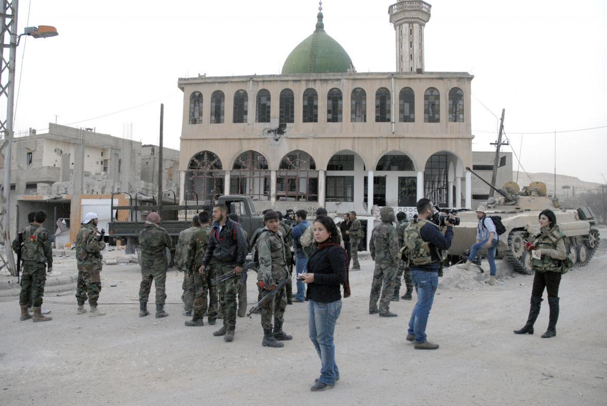 Novináři v Sýrii