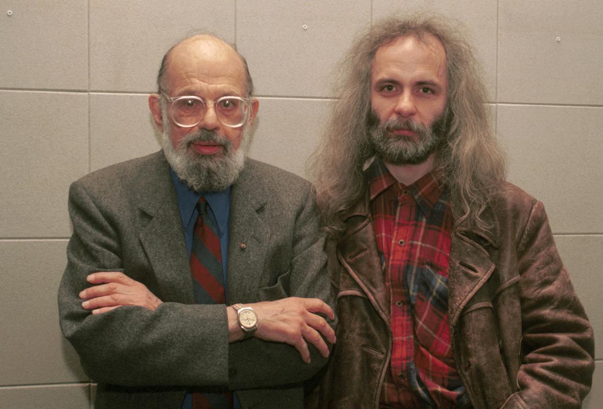 Allen Ginsberg a Josef Rauvolf (1996)