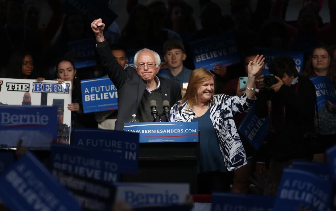 Mítink Bernieho Sanderse