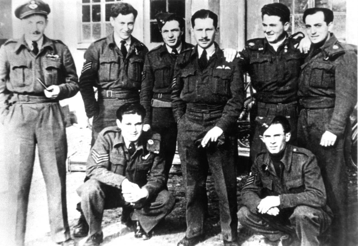 Českoslovenští letci RAF
