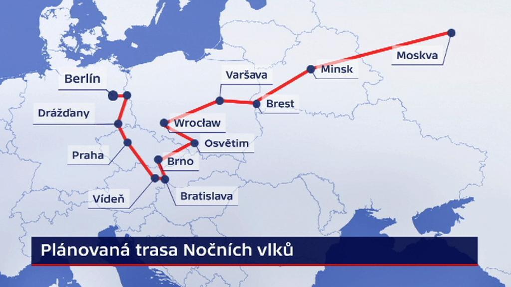 Evropská cesta Nočních vlků