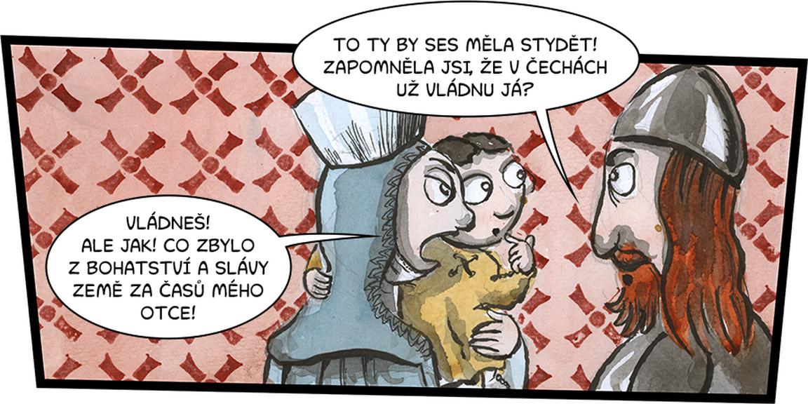 Interaktivní komiks o Karlu IV.