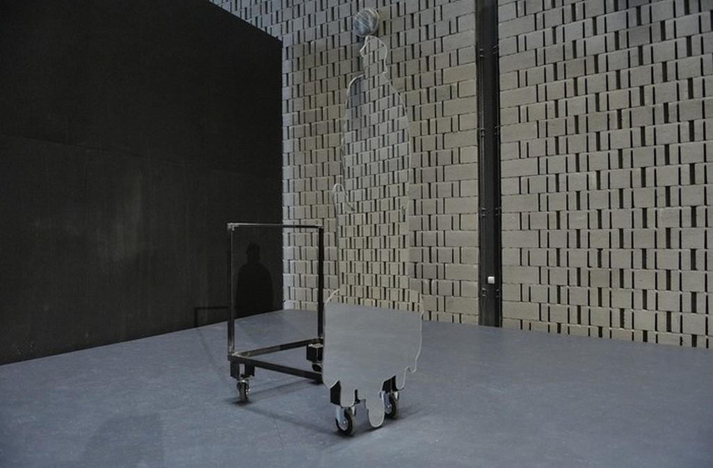 Z výstavy Šárky Mikeskové Aleluja (Galerie Plato)
