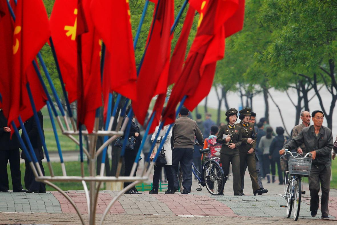 Sjezd v Pchjongjangu