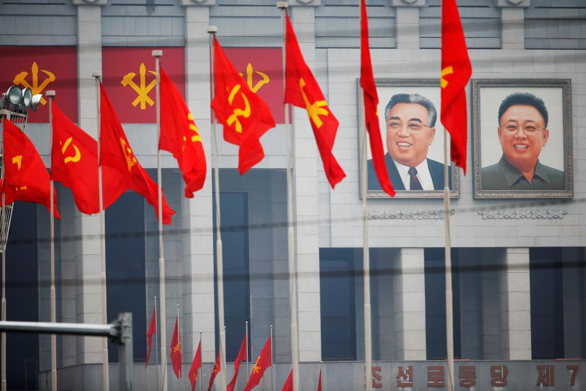 Sjezd vládnoucí strany v Pchjongjangu