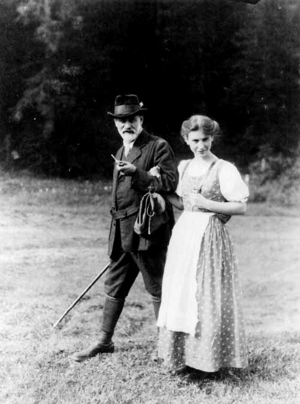 Sigmund Freud s dcerou Annou