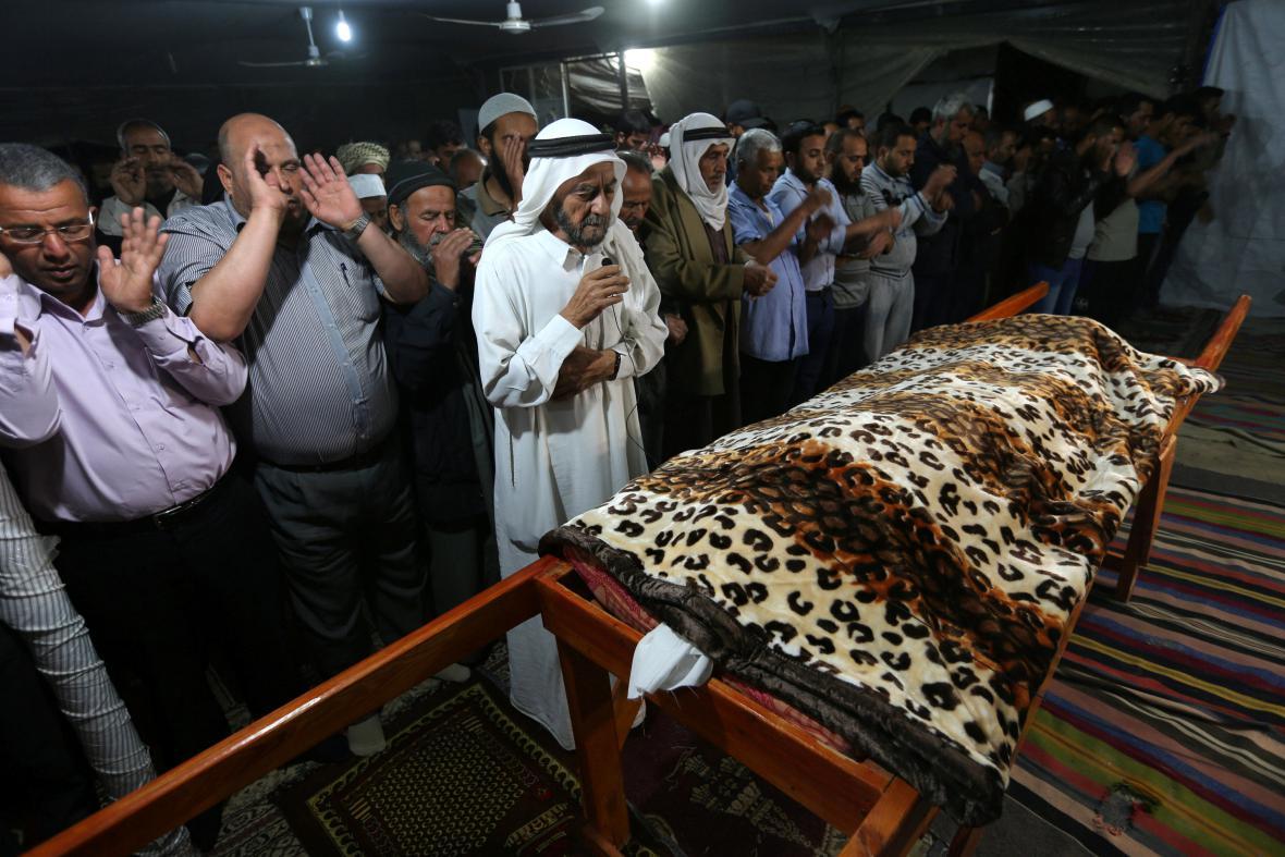 Izraelské bomby v Gaze zabily Palestinku, tvrdí lékaři