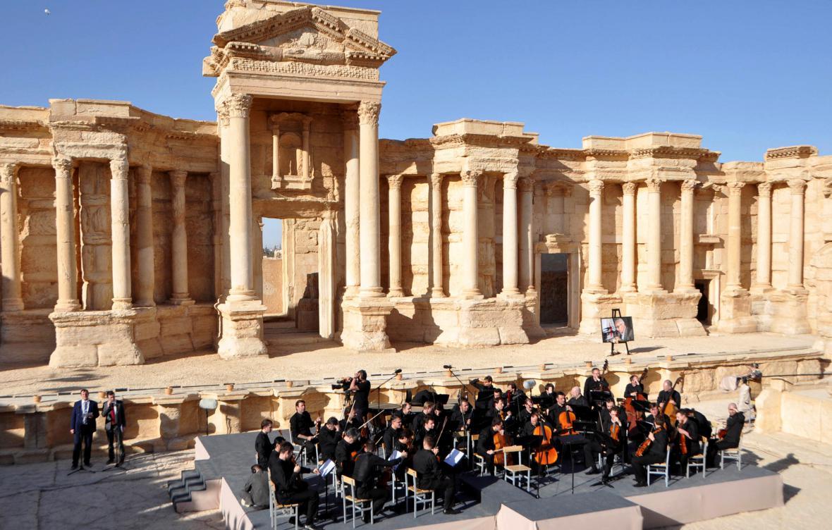 Ruský koncert v Palmýře