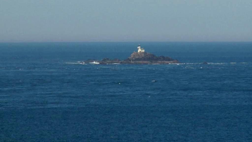 Maják na ostrově Tévennec