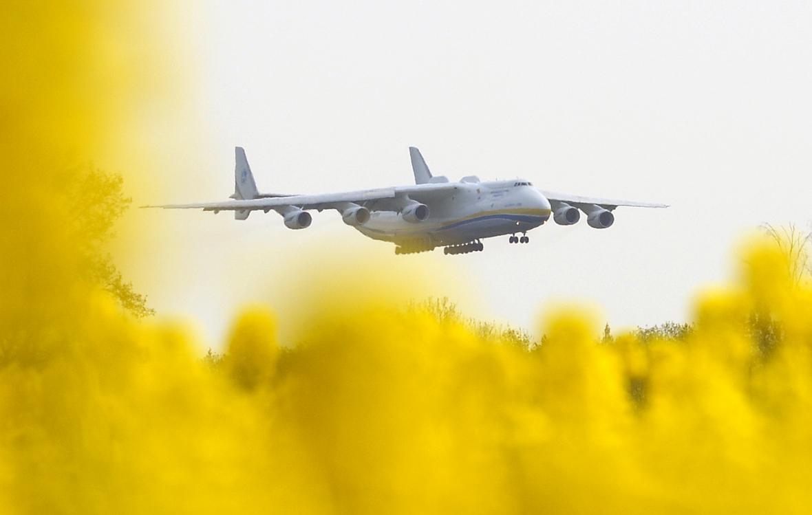 V Praze byl Antonov An-225 naposledy v roce 2006