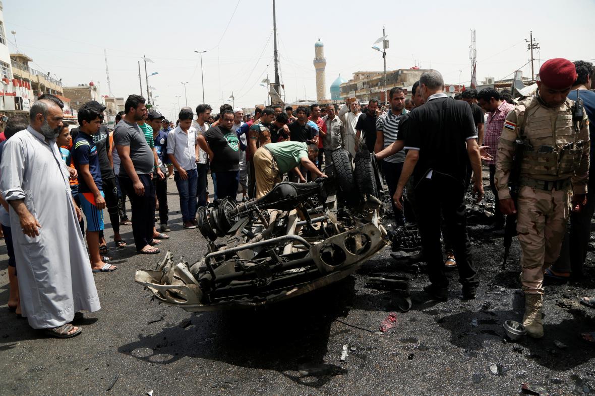 Bombový útok v Bagdádu
