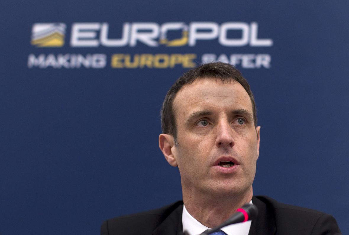 Ředitel Europolu Rob Wainwright