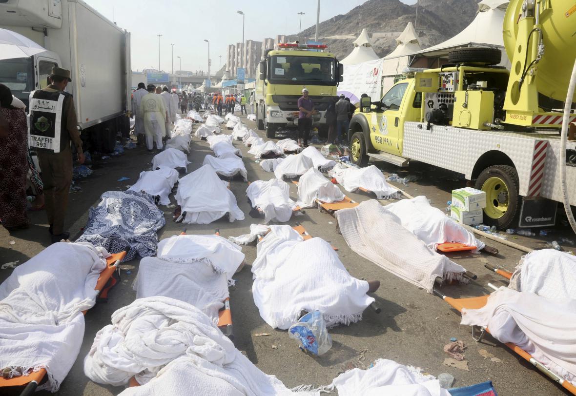 Během pouti do Mekky v roce 2015 zemřelo na 2000 lidí
