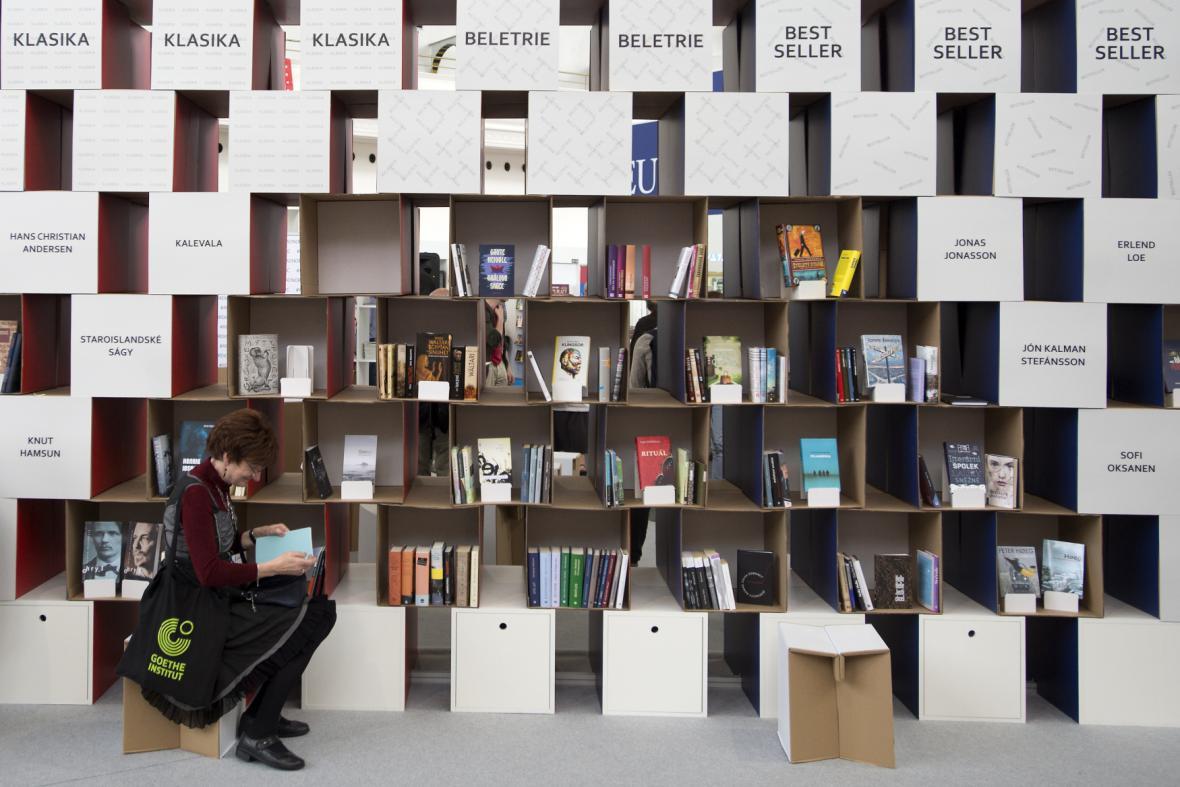 Stánek severských zemí na Světě knihy 2016